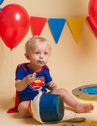 Isla Grace Photography - The best cake smash photographer in Whitchurch